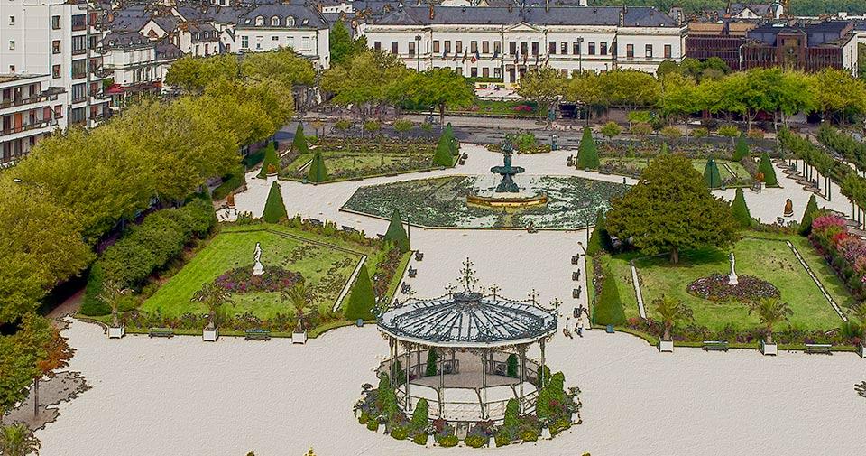 Beautiful Kiosque Jardin Du Mail Angers Photos - Design Trends 2017 ...